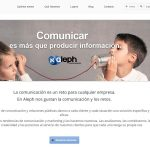 Aleph Comunicación renewed its corporate image and moved its offices