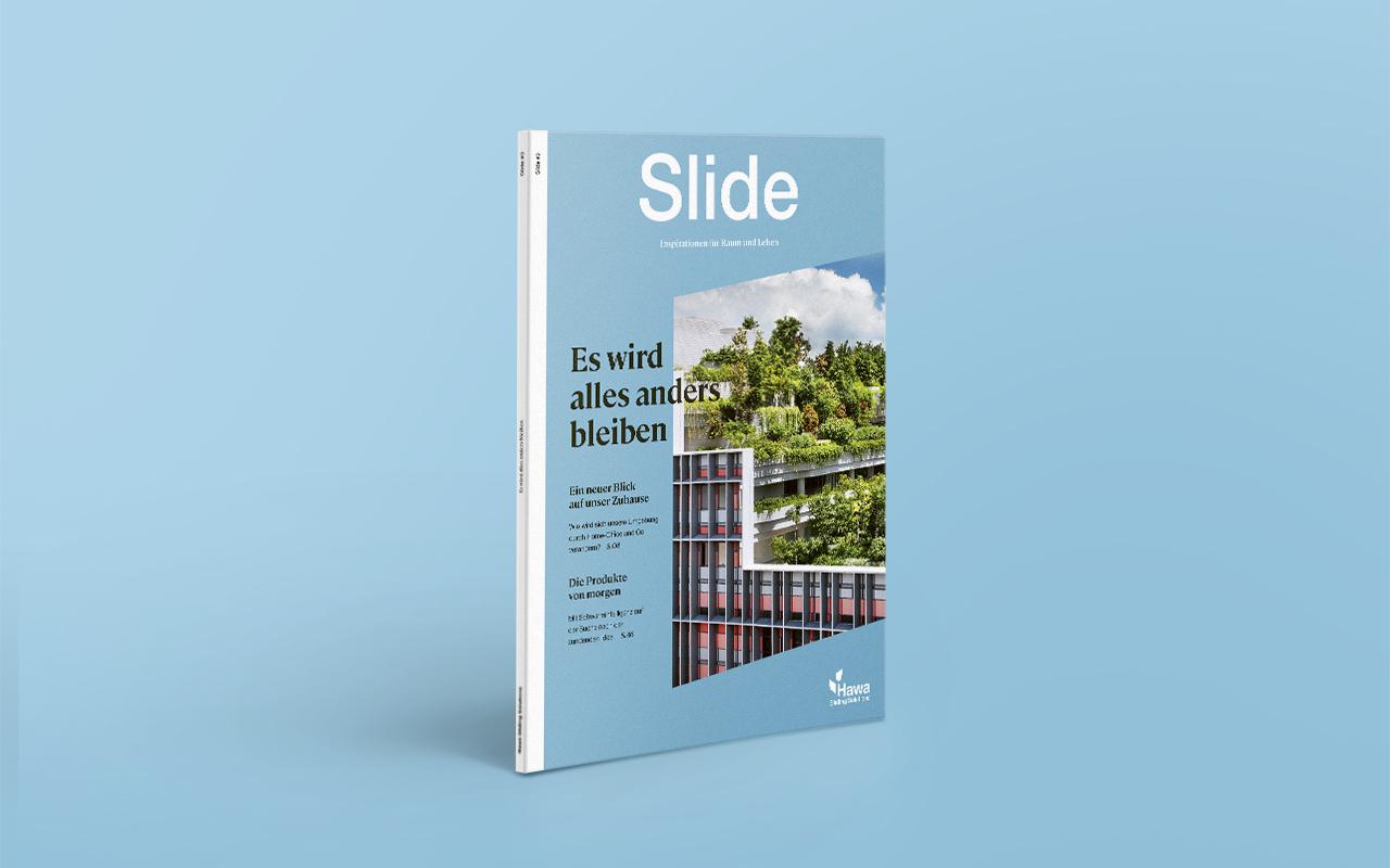 Hawa's Slide magazine gets an identity revamp